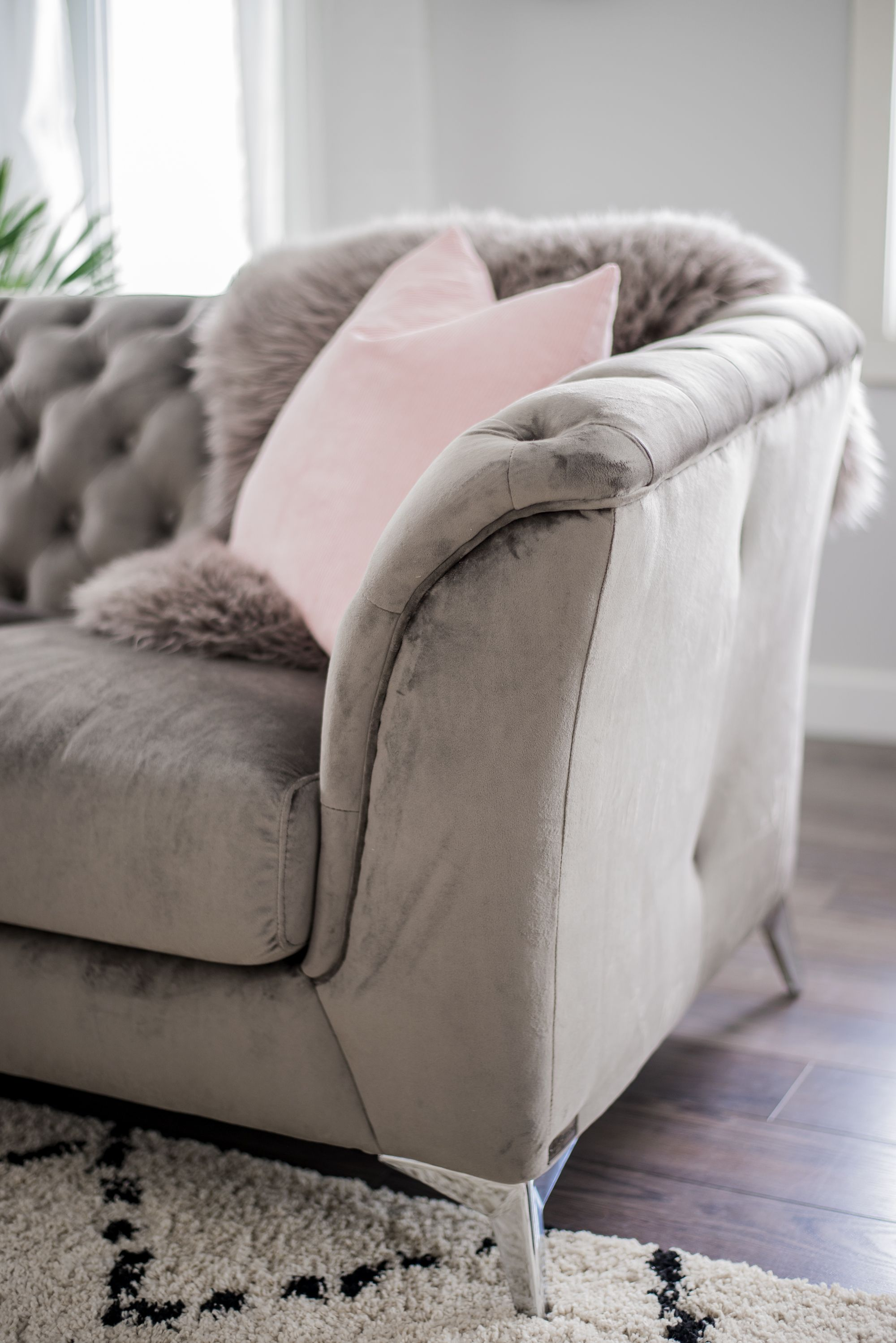 A Cozy Rustic Glam Living Room Makeover For Fall Glam Living