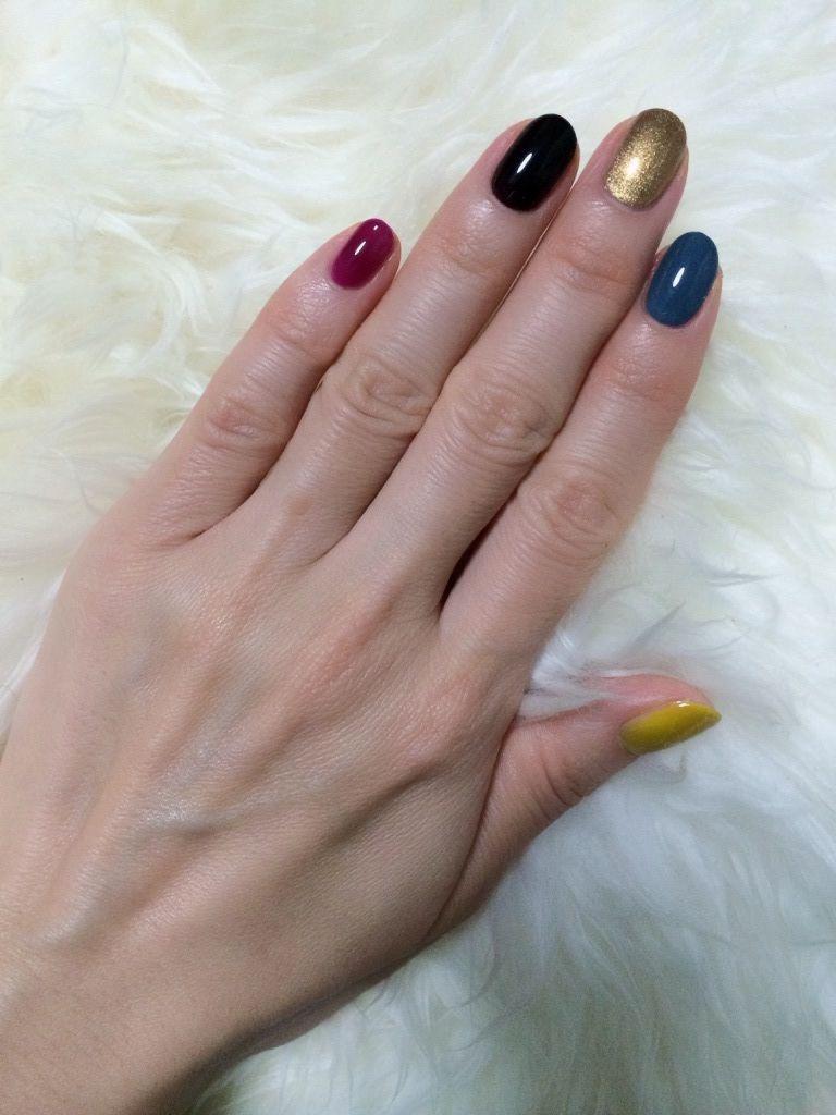 Crazy Color Nail Nail Art Pinterest Color Nails