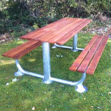 Tollgate Picnic Table Length 1800mm Width 1100mm Height 745mm