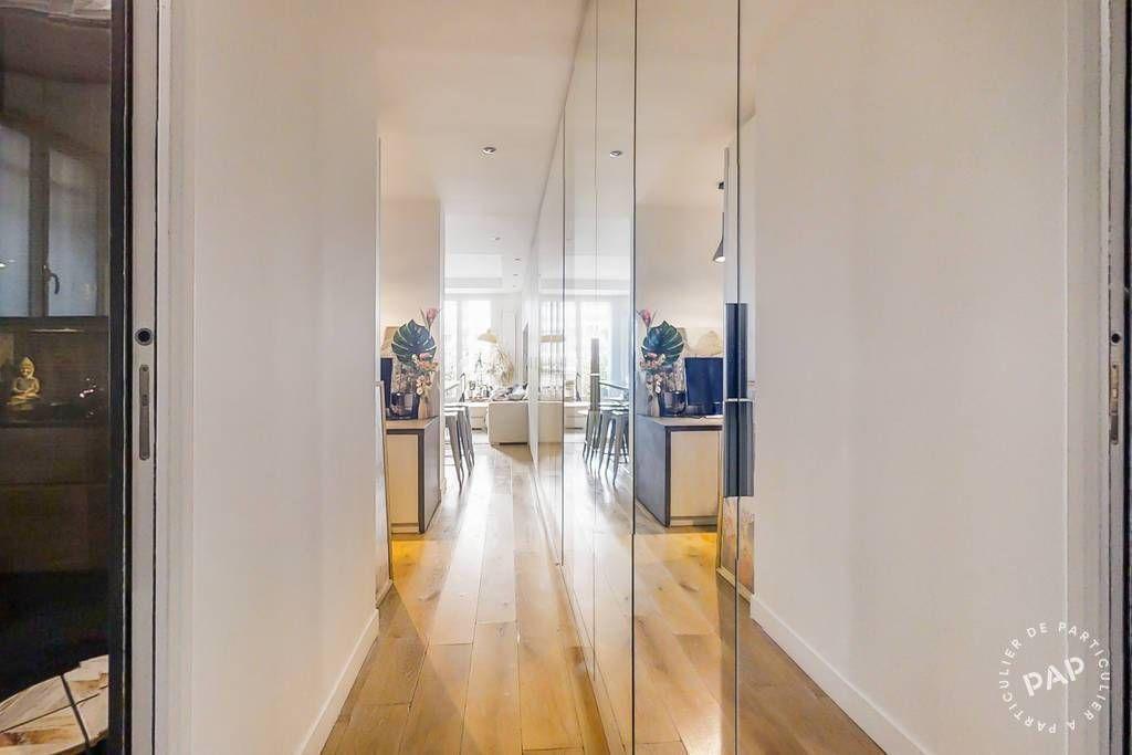 Vente Appartement 2 Pieces 46 M Un Espace Nuit Bureau Paris 14eme 46 M 500 000 De Par En 2020 Vente Appartement Petite Copropriete Architecte Interieur