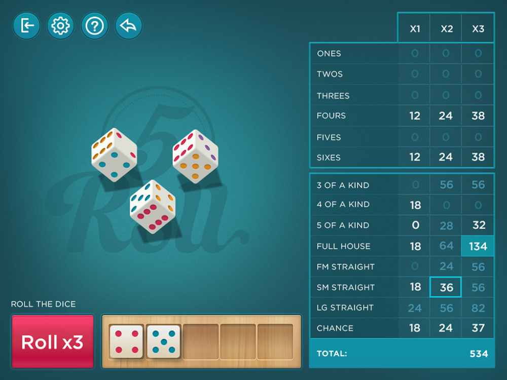 Enjoy Playing 5 Roll Five Dice Free Online Games Games