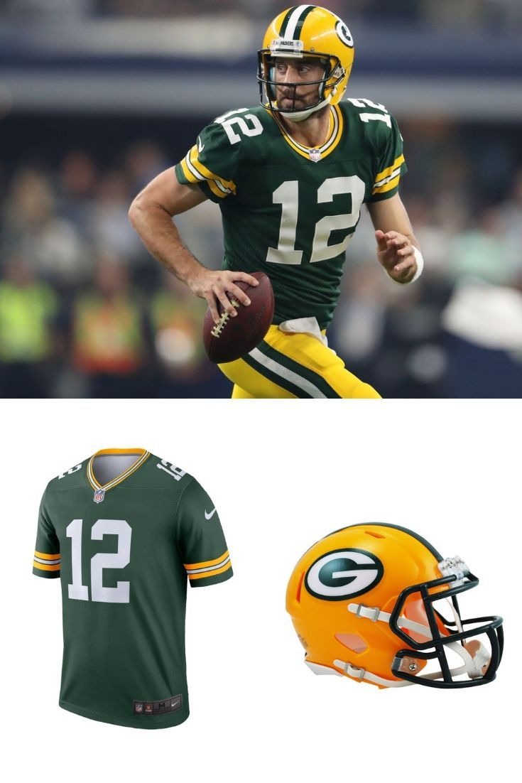 Aaron Rodgers Green Bay Packers Home Green Bay Packers Green Bay Packers Helmet Rodgers Green Bay