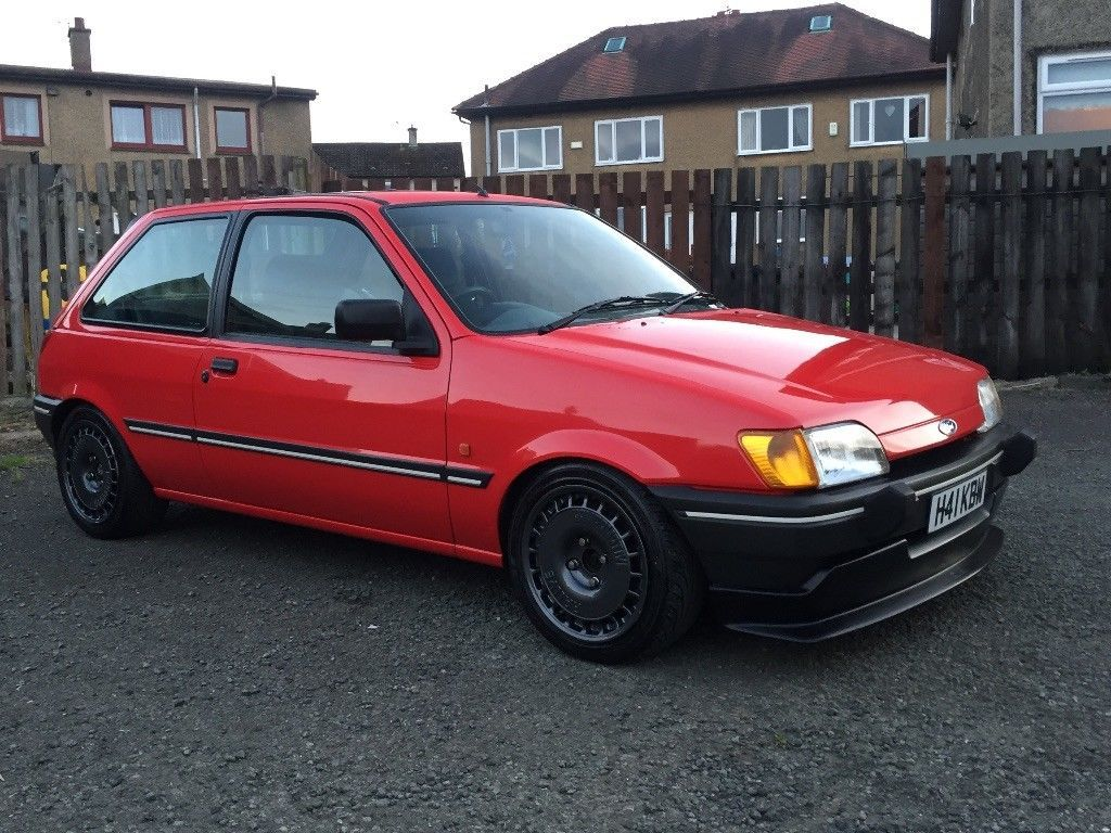 This Ford Fiesta 1 6 Mk3 1990 Is For Sale Ford Fiesta Ford