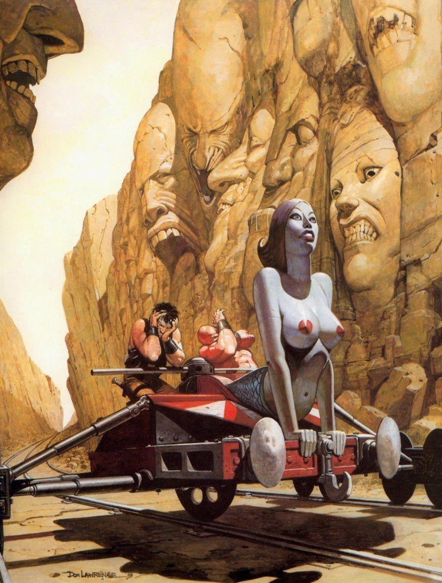 Erotische Sci Fi 3D Kunst