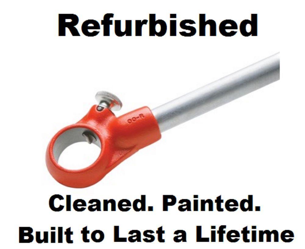 Ridgid 38540 00-R Pipe Threader Ratchet u0026 Handle Only for 00R Drop Die  sc 1 st  Pinterest & Ridgid 38540 00-R Pipe Threader Ratchet u0026 Handle Only for 00R Drop ...