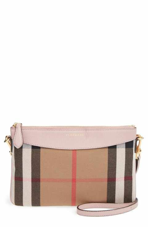 9304919b53e9 Burberry Women s House Check and Clutch Bag Pale Orchid. Baggallini  Everything Travel Crossbody Bag