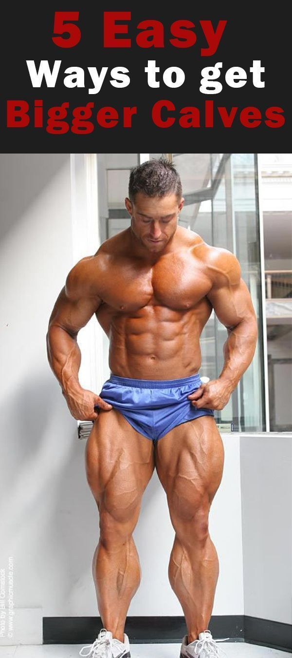 Small legs? It seems like the only people with big calf muscles are athletes and those blessed with...