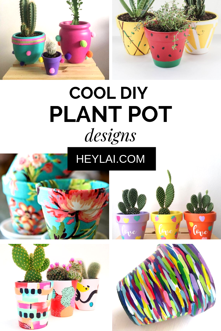 Diy Colorful Planters To Make Your Space Merrier Cool Diy Projects Diy Diy Projects To Try