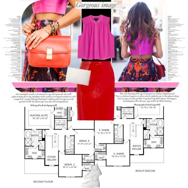 391.Style's Tip: How to wear Red and Pink?