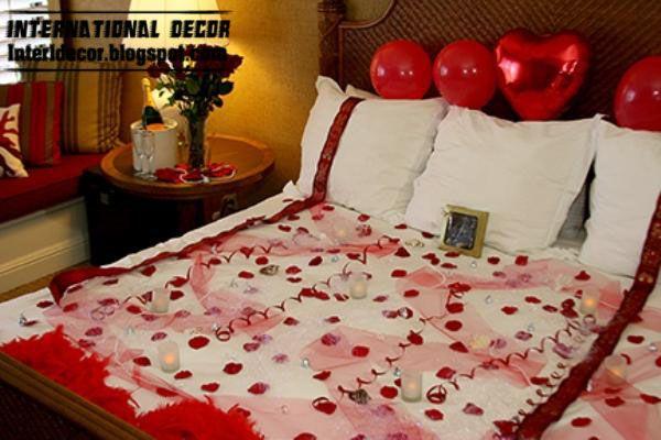 Romantic Valentine S Day Bedroom Decorations Valentines Bedroom