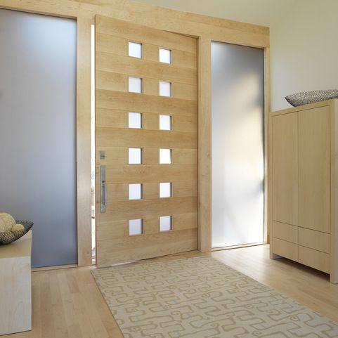zen glass front door design ideas pictures remodel and