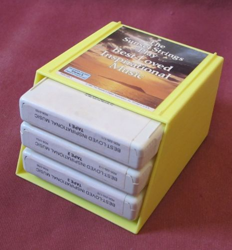 Sunset Strings Inspirational Music Reader's Digest Stereo 8 Cassette Set 8-Track