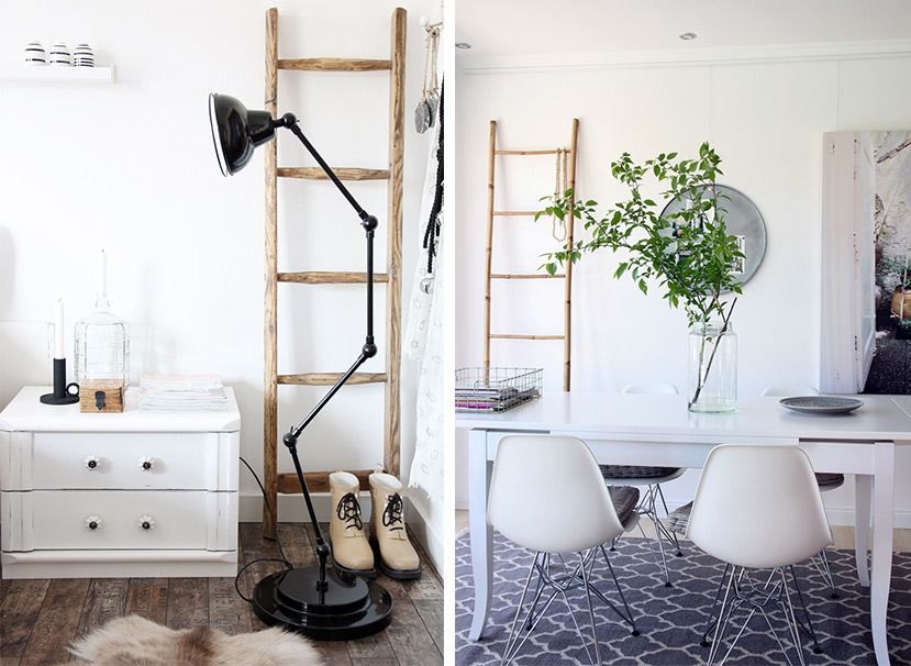 leiterregal so wird deine alte holzleiter zum eyecatcher leitern pinterest leiter. Black Bedroom Furniture Sets. Home Design Ideas
