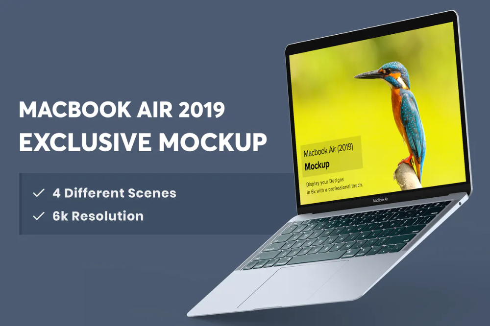 Macbook Air Mockup By Tunerpixel On Envato Elements Macbook Air Macbook Mockup