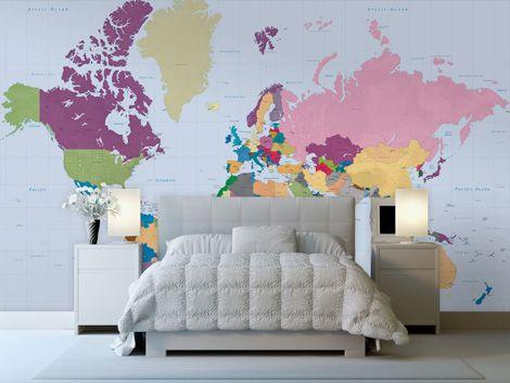 wallpaper maps via grainedit.com