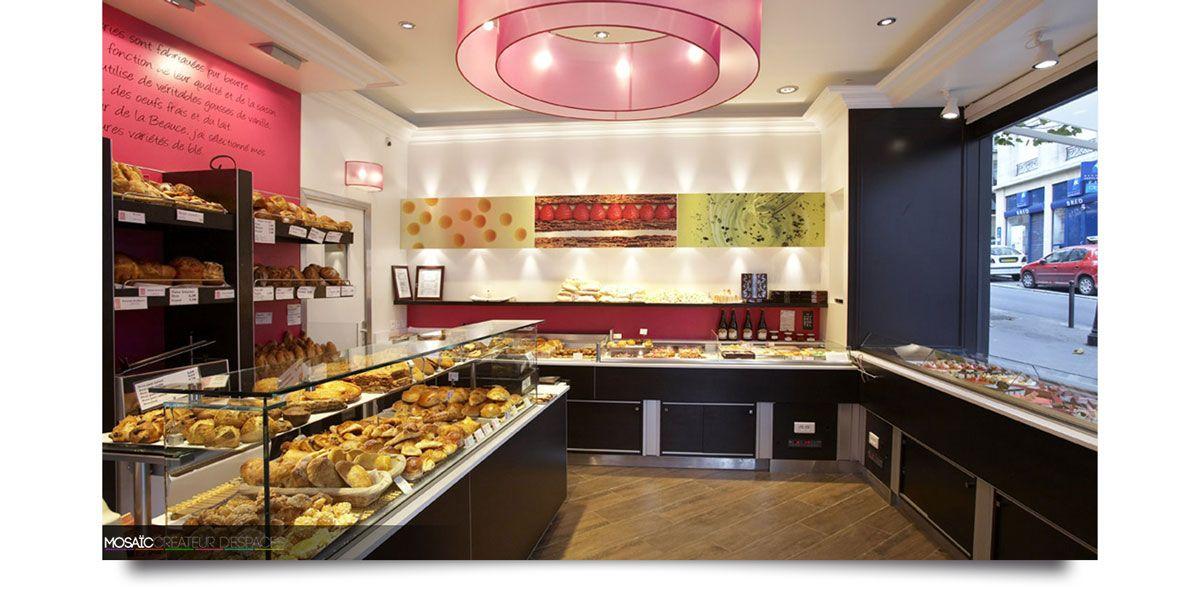 Creation Et Agencement De Boulangerie Patisserie Chocolaterie Mosaic Agencement Agencement Decoration Architec Magasin Patisserie Chocolaterie Patisserie