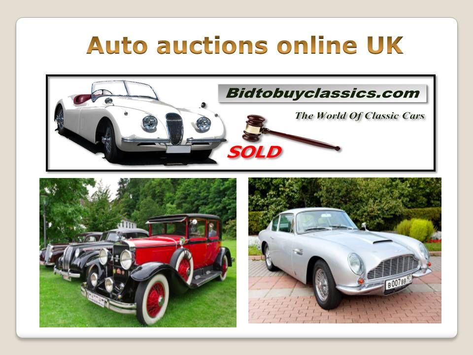 Bid to buy classics is the leading online classic car auction site ...