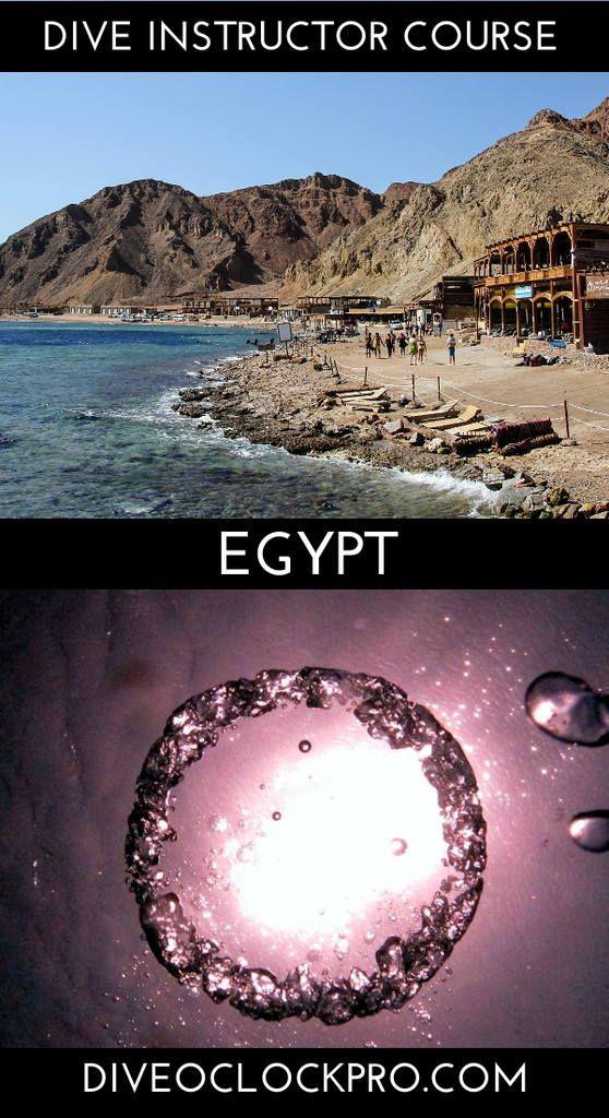 PADI Dive Instructor Course Dahab, South Sinai, Egypt