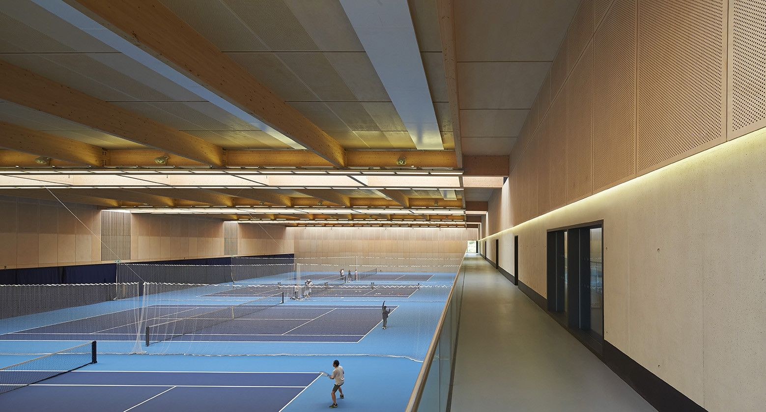 Lee Valley Hockey and Tennis Centre,© Hufton+Crow