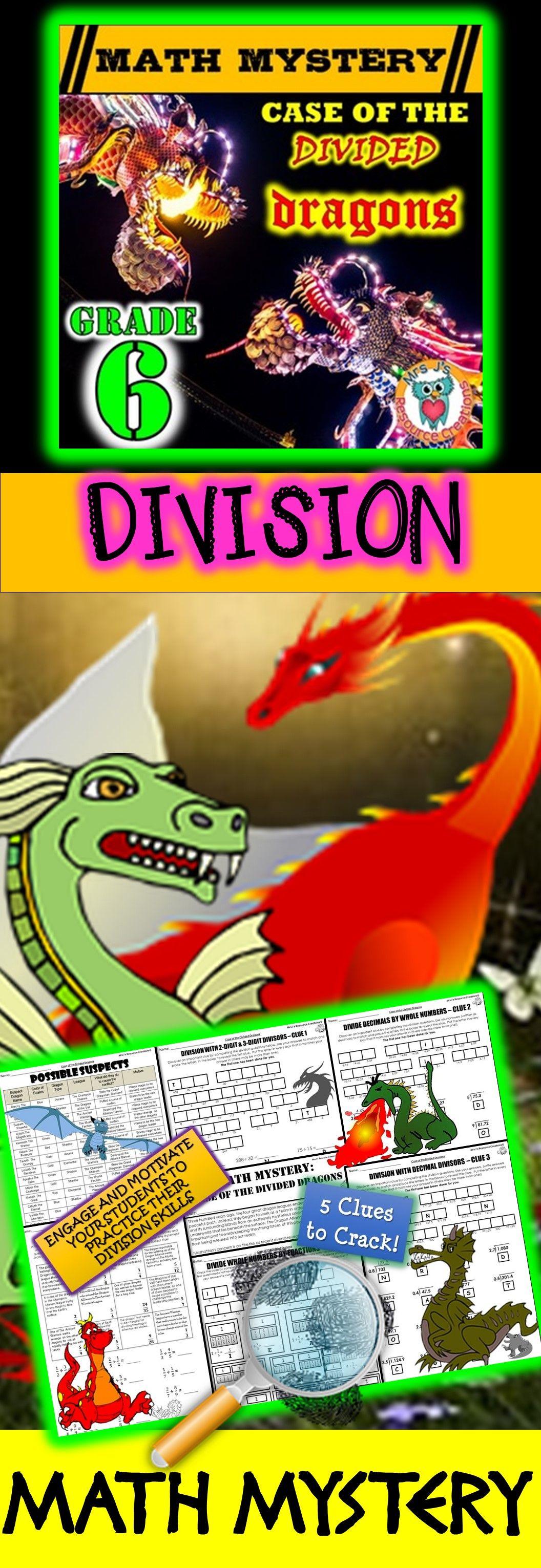 6th Grade Division Review Dividing Decimals Amp Fractions