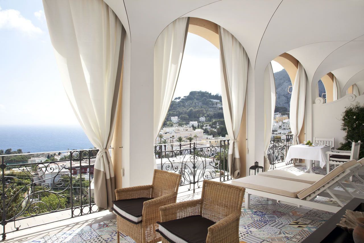 Capri Tiberio Palace | Capri | Pinterest | Capri, Palace and Italy
