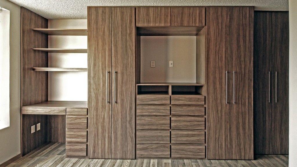 Closet de pared muebles pinterest armario y b squeda for Zapateras para closet pequenos