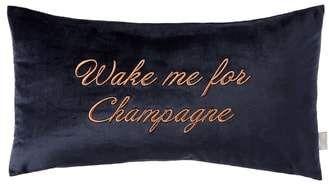 f2b68e66a Ted Baker Wake Me for Champagne Velvet Accent Pillow