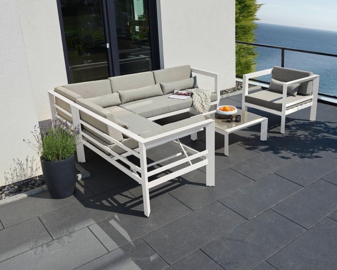Loungegarnitur von AMBIA GARDEN Außenmöbel, Lounge