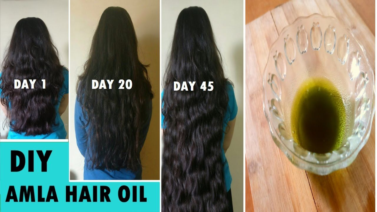 Grandma S Secret Recipe To Grow Long Hair Fast Naturally Amla Hair Oil Growing Long Hair Faster Thick Hair Remedies Grow Long Hair