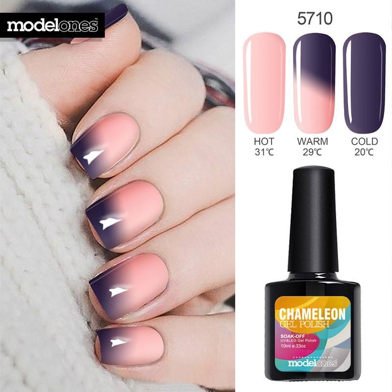 10ml Thermos Change Color Nail Gel Polish With Images Gel Nail