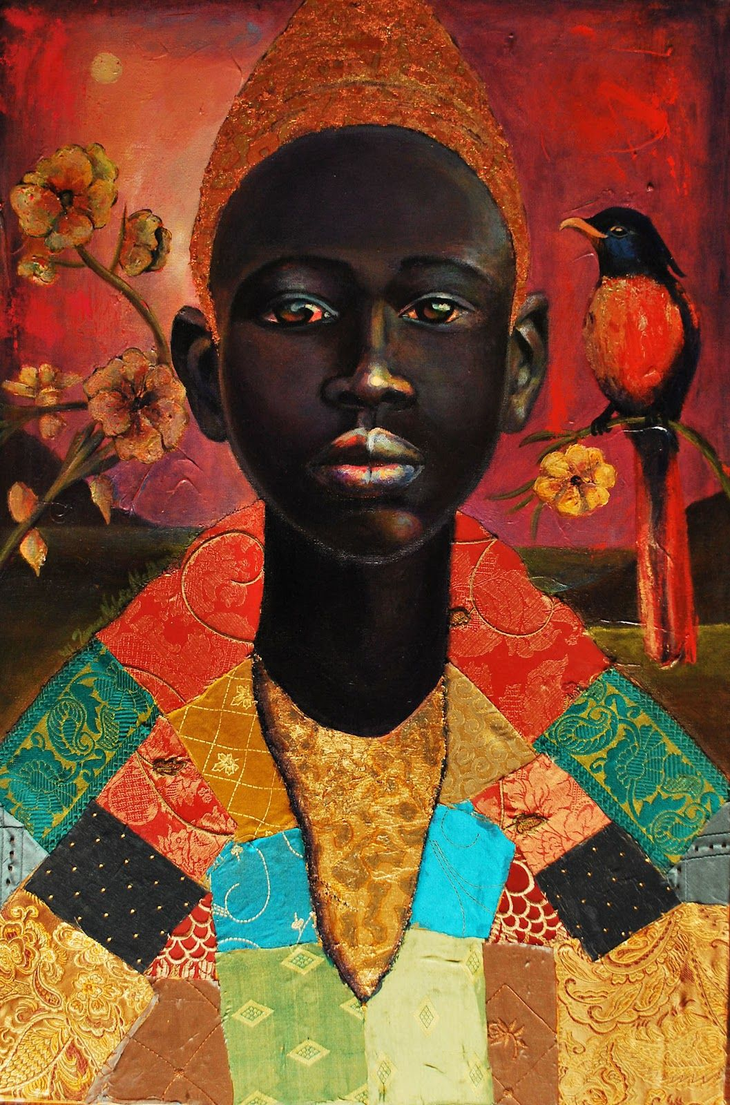 Painting © by Tamara Natalie Madden African american art