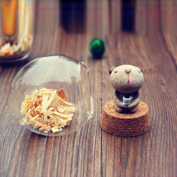 DIY  desktop decoration bear ecological resin creative craft ornaments creative gift
