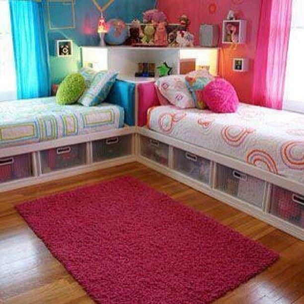 Twin Kids Room: Teens Twins Bedroom