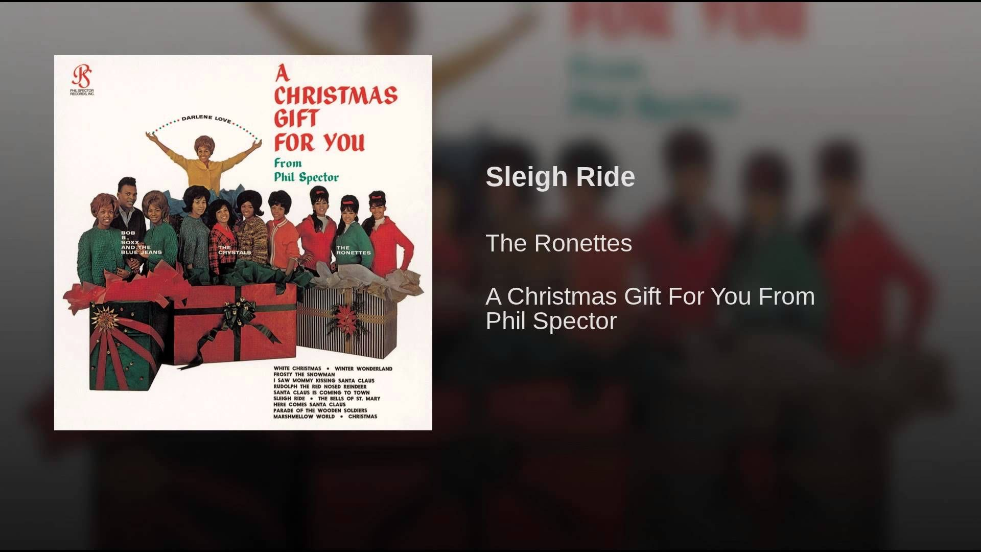 Sleigh Ride - The Ronettes. Such a cute classic! | music | Pinterest ...
