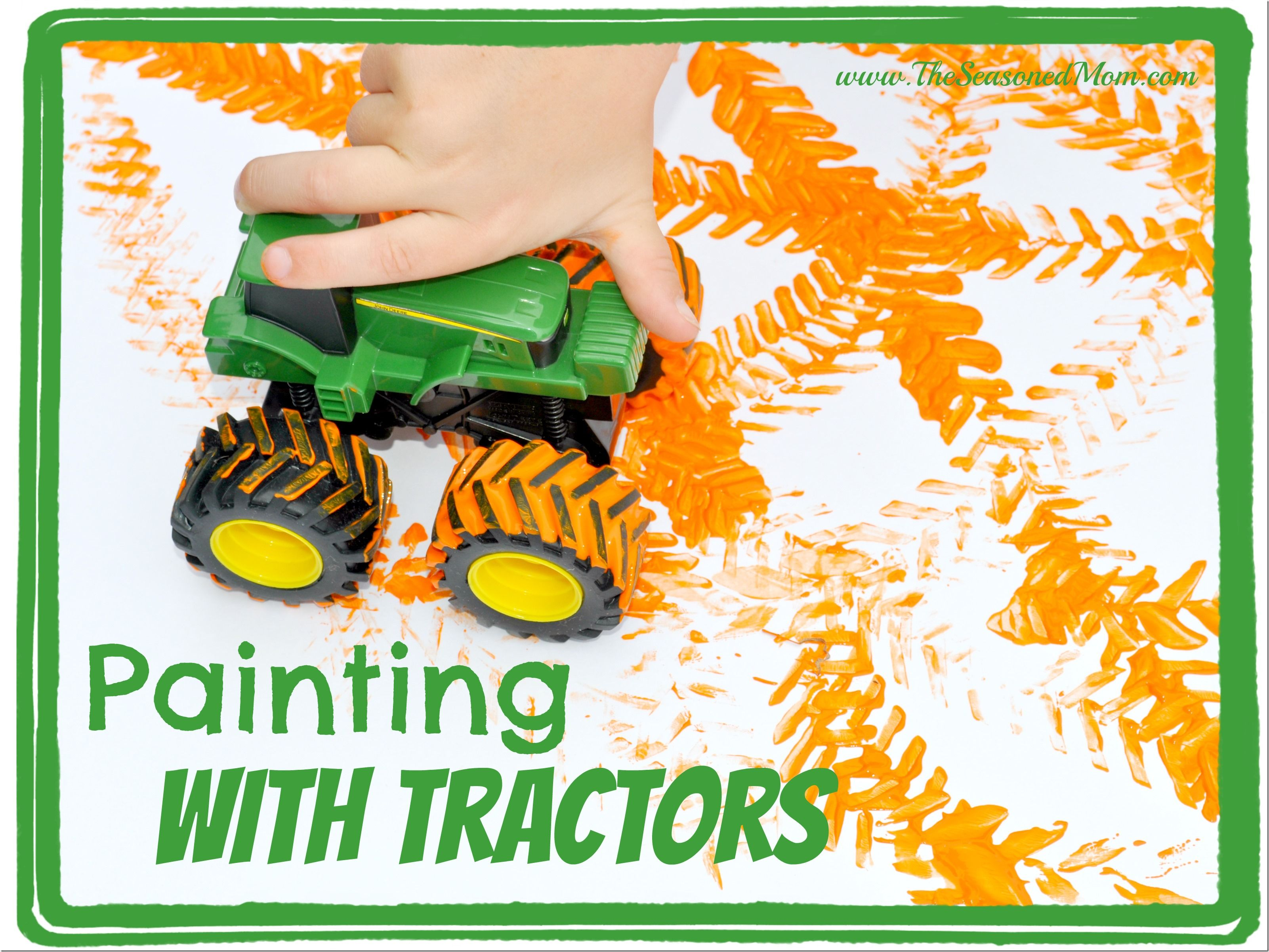 Painting With Tractors