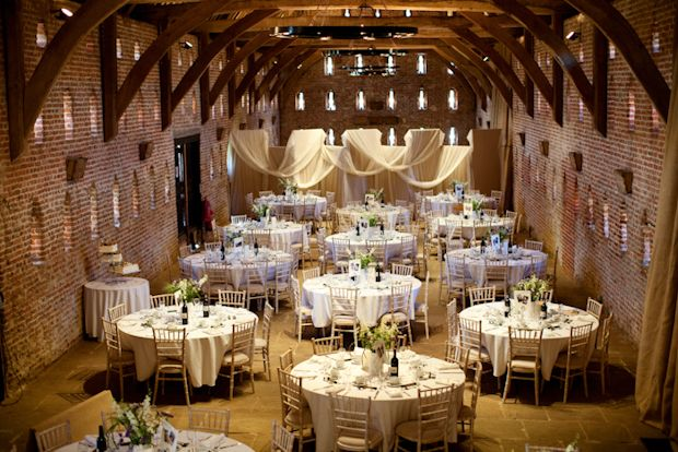 A Gorgeous Hales Hall Barn Wedding With Yellow Green Details