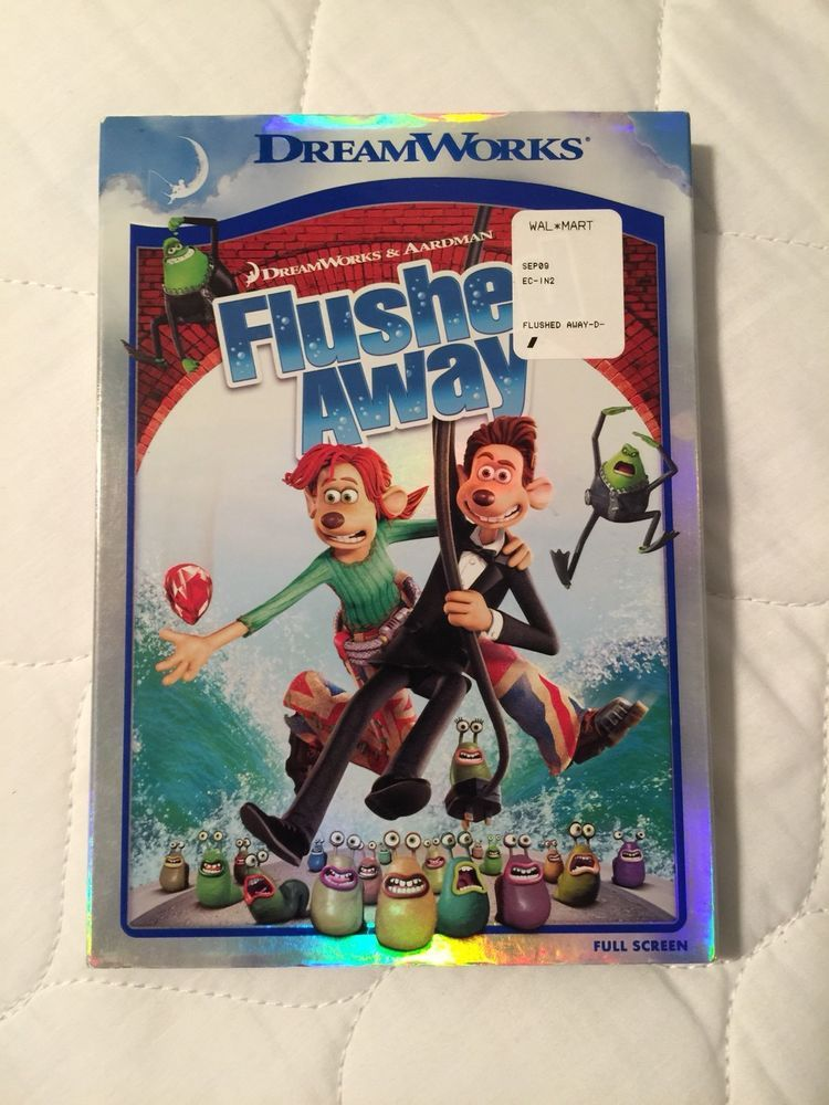 Flushed Away DVD Full Screen | Movie/DVD's For Sale