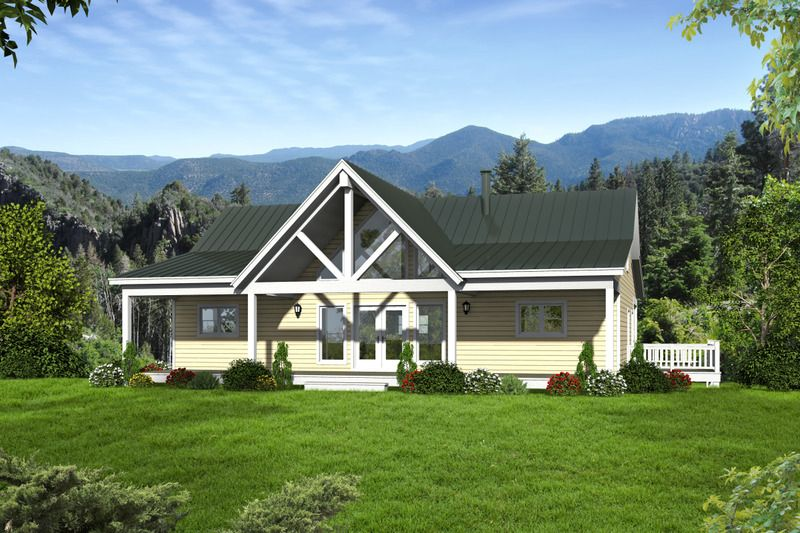 Country Style House Plan - 2 Beds 2.00 Baths 1500 Sq/Ft Plan #932-15 ...