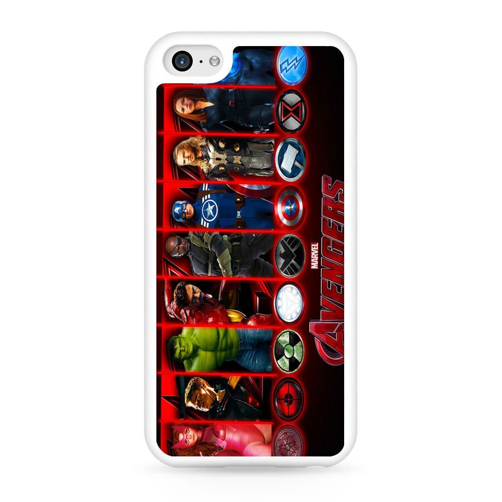 Age of Ultron All Character iPhone 5C Case