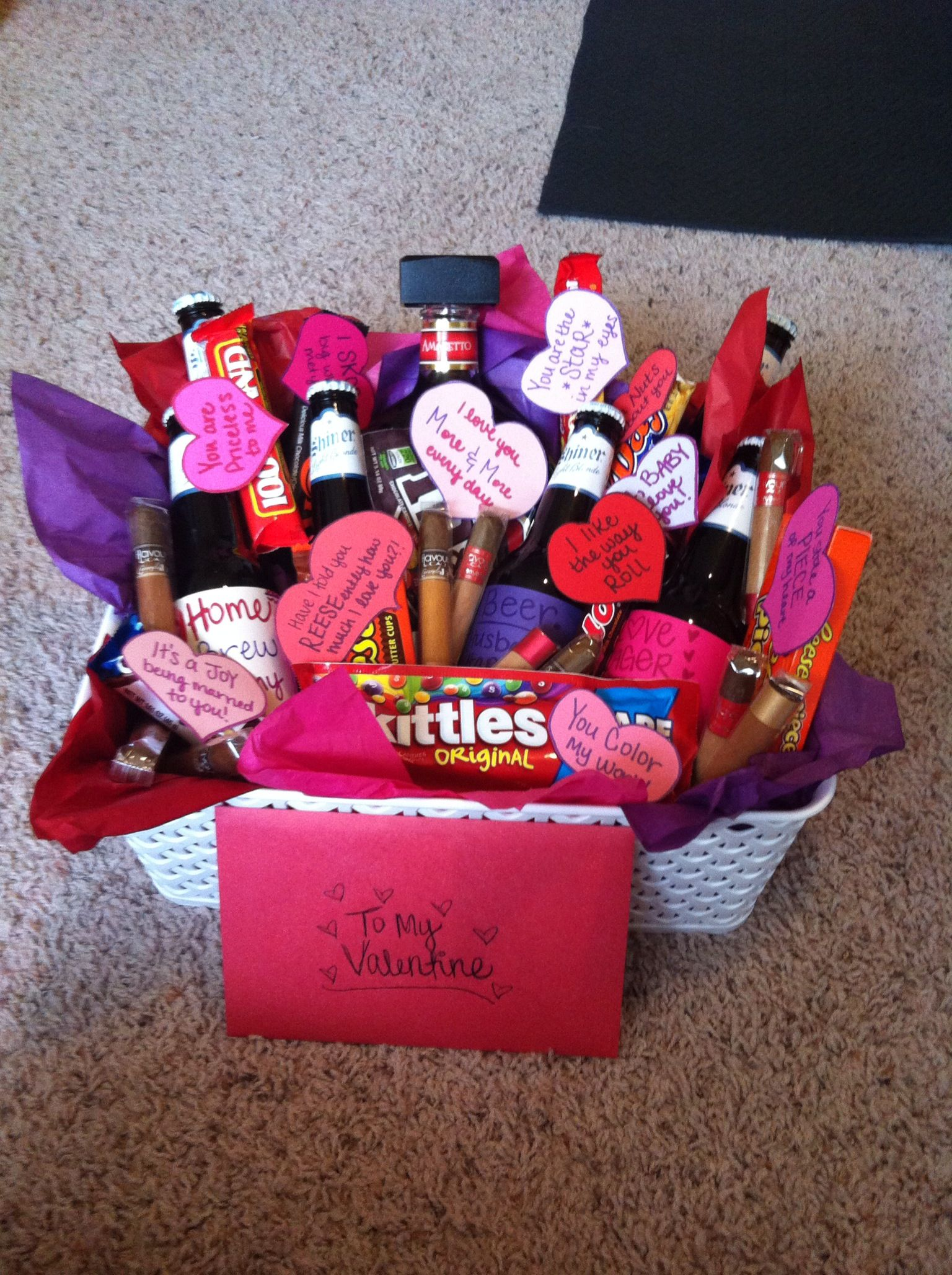 Valentines day gift basket | all things crafty | Pinterest | Gift ...