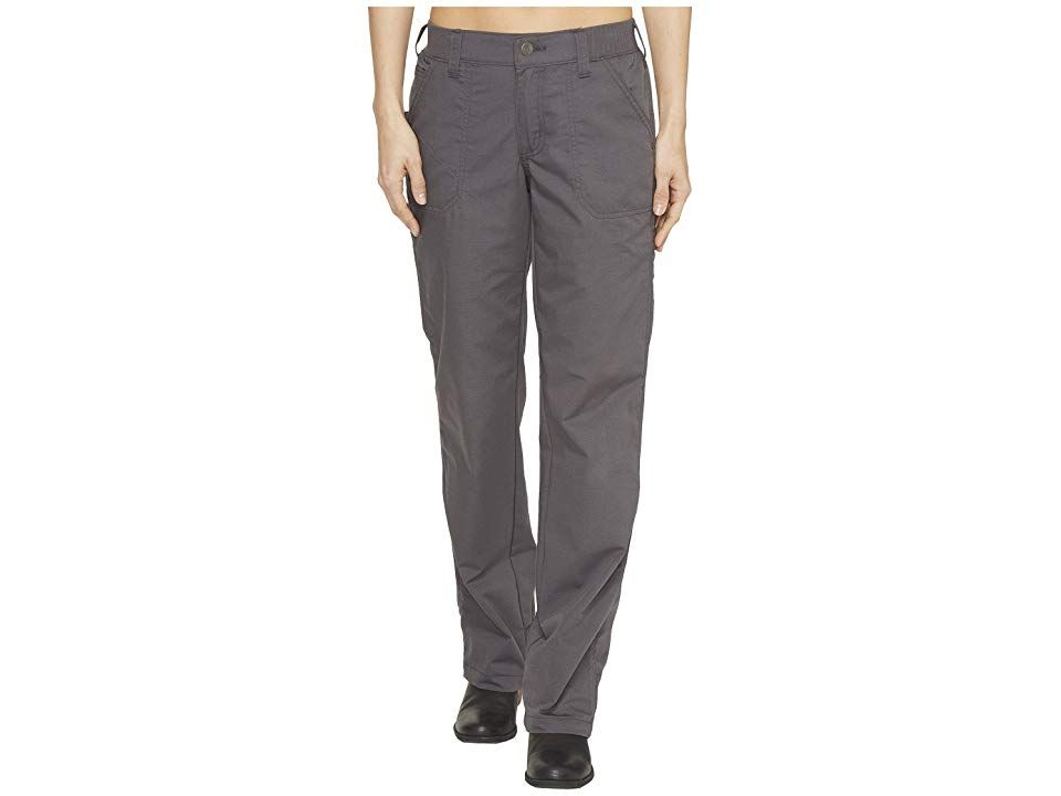 Carhartt Force Extremes Pants Shadow Womens Casual Pants Thrive to achieve success with the support of these longlasting Carhartt pants Midrise pant sits comfortably at t...