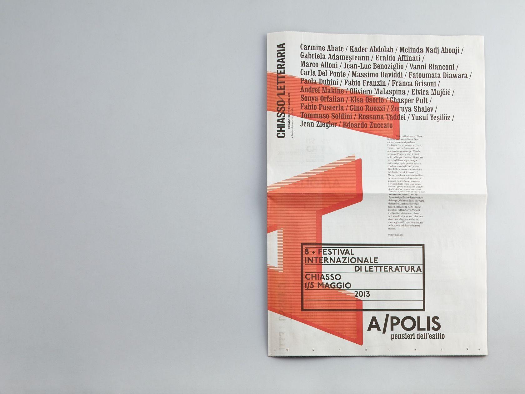 Ccrz Chiassoletteraria Apolis Swiss Design Book Layout