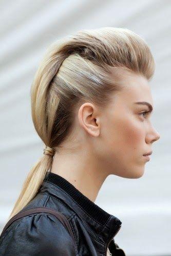 Pompadour Ponytail Hairstyle Hair Hair Styles Hair Ponytail