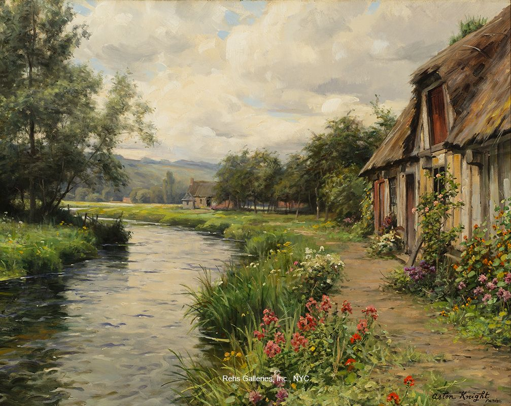 A Cottage in the Meadow