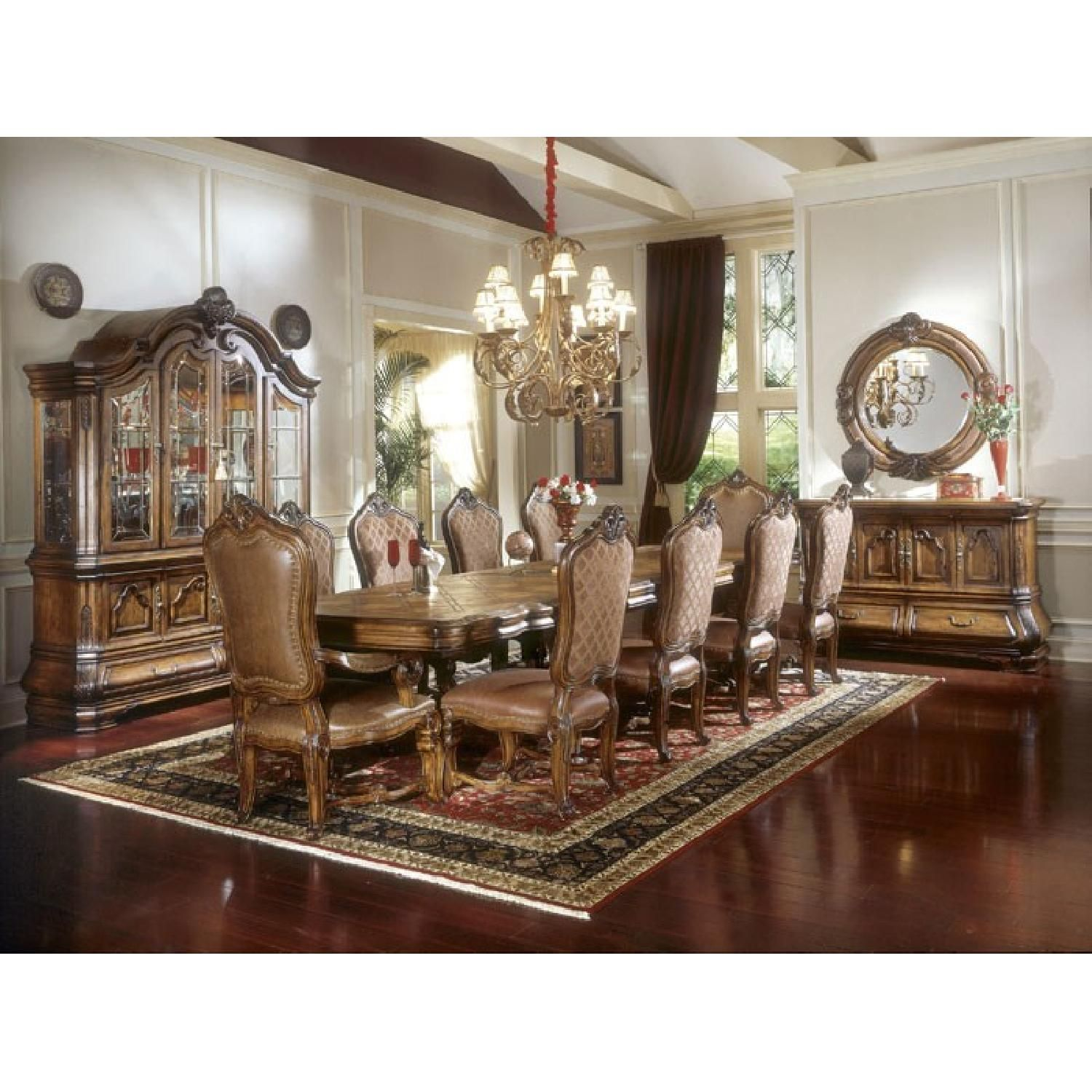Michael Amini Tuscano 13 Piece Dining Room Collection