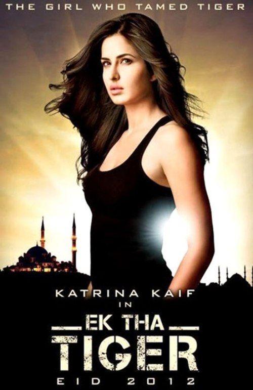 Katrina Kaif First Look In Ek Tha Tiger Official Movie Poster Ek Tha Tiger New Movie Posters Katrina Kaif