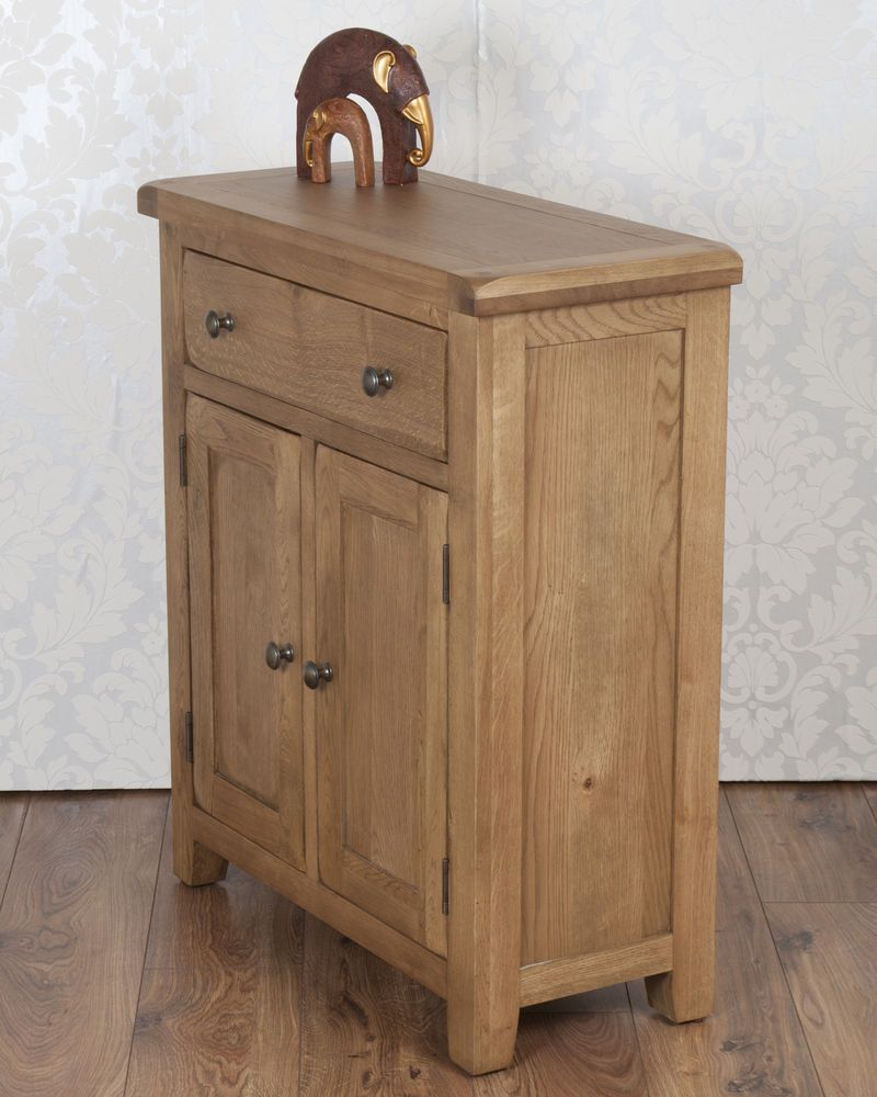 Details about Chunky Solid Oak Dorset Country Slim 199 Door 19 Drawer ...