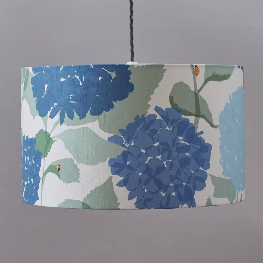 Hydrangea Lampshade Nice Look