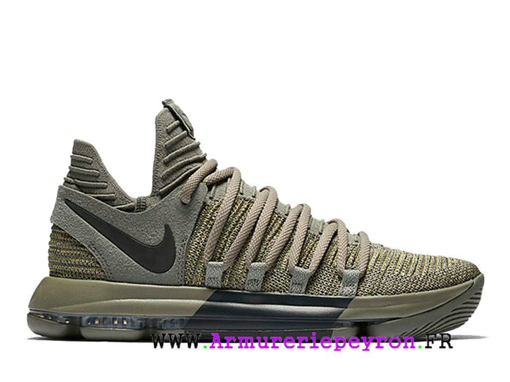 Basket Homme Nike 10 Sport Chaussures Vert Kd Armée Zoom De 2018 uXkiPZ