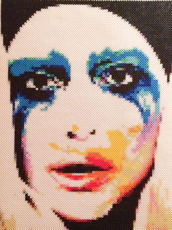 Lady Gaga Applause | Artpop | Bead Portrait | Mother Monster